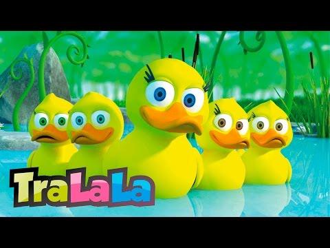 Rățuștele mele pe apă s au dus Cântece pentru copii TraLaLa