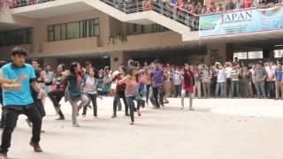 ICC World Twenty20 Bangladesh 2014   Flash Mob North South University