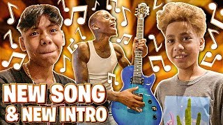 WE MADE A NEW INTRO & JERRY & ADONNIS GOT A NEW SONG!!