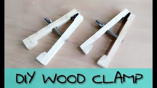 How To Make Wooden Clamp || Diy Wooden Vice Clamp