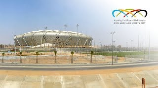 King Abdullah Sports City Construction Time-Lapse