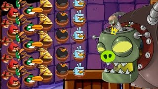 Plants Vs Zombies Jefe Final Vs Angry Birds