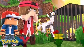 Minecraft: Pokemon X Y - ENCONTRAMOS O ARCEUS E A BONNIE #69