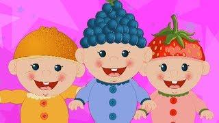 Fünf kleine Babys | Lied für Babys | Rhyme For Children | Preschool Song | Five Little Babies