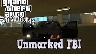 Gta Sa Fbi Car Mod Unmarked Ford Crow  Years Ago