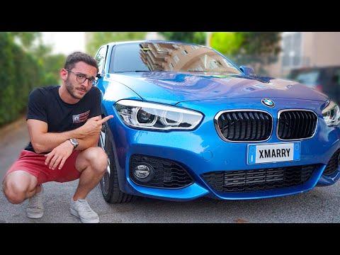 VI MOSTRO LA MIA NUOVA AUTO BMW Serie 1 M Sport
