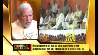 MODI ON Bangladeshi HINDUS   Frankly Speaking Narendra Modi on Hindu Refugees