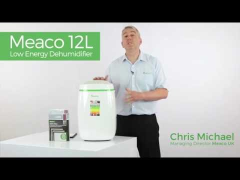 Meaco 12L Low Energy Dehumidifier Product Demo