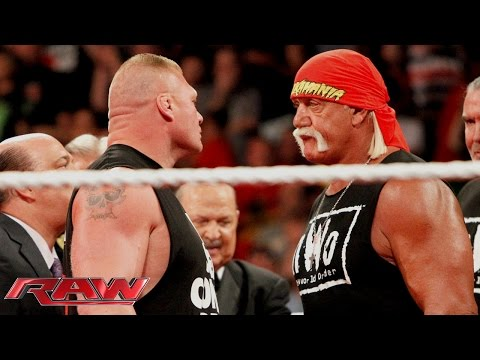 Brock Lesnar crashes Hulk Hogan's birthday celebration: Raw, Aug. 11, 2014
