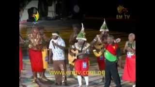 PNG oldies and Stringband music rock the SP Games stadium-2015