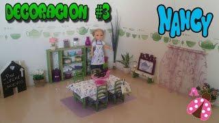 Deco Comedor de Nancy - Casa de muñecas - Nancy room decor