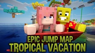 Aladdin's Magic Carpet   Epic Jump Map : Tropical Vacation   Ep. 4