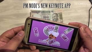 Modi's Keynote App