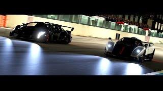 Forza 6 - With Ahmad - Lamborghini Veneno VS Pagani Zonda Cinque - Drag & Track battle!