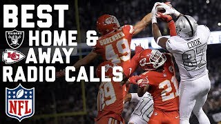 Best Home & Away Radio Calls from Raiders Crazy Comeback Win Over Chiefs! | NFL Highlights