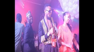 WATCH D'BANJ GROOVING TO OLAMIDE'S HIT SONG 'WO'