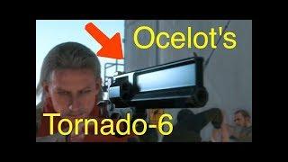 MGSV: Phantom Pain - Ocelot's Tornado-6 Revolver - (Metal Gear Solid 5 Secrets: Part 91)