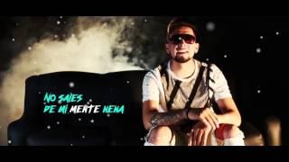 No sales de mi mente Daniel Calderón ft Lui-G (Official Lyric Video)