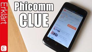 Günstiges Smartphone mit toller Leistung - Phicomm CLUE - Test / Review & Auspacken (Deutsch)