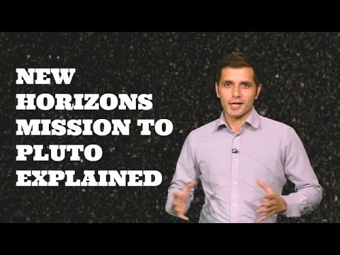 New Horizons for Pluto explained.BBC Urdu