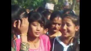 Binod Giri  dance video on uncle marry ceremony.3gp