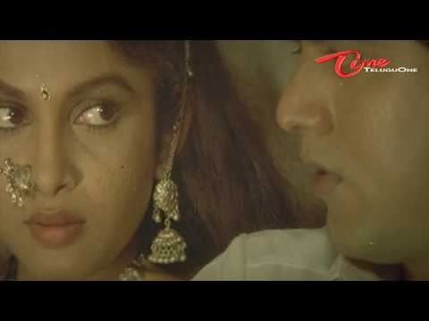 Heroine Ramya Krishna's scene from a telugu movie Captain Prabhakar
