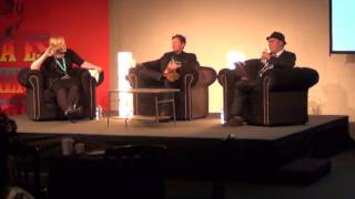 Day of the Dead 2015: DBC Pierre and Martin Rowson in conversation with Alex Clark