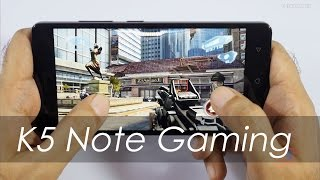 Lenovo Vibe K5 Note Gaming Review that's Interesting!
