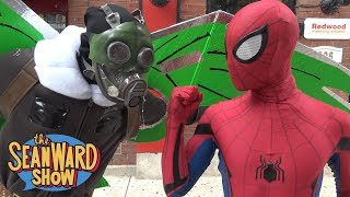 SPIDER-MAN vs THE VULTURE Epic Battle PRANK Spider-Man Homecoming