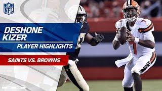 Every DeShone Kizer Pass Against New Orleans | Saints vs. Browns | Preseason Wk 1 Player Highlights
