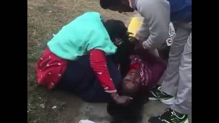Desi Aunty fighting