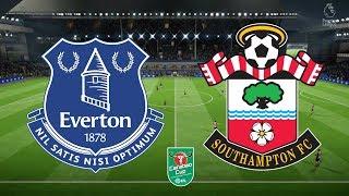 Carabao Cup 2019 Third Round - Everton Vs Southampton - 25/09/18 - FIFA 18