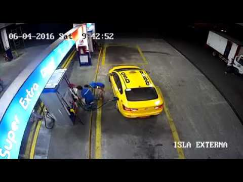 Fuerte Accidente moto Quevedo