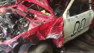 eazy gm brake fix demo derby car