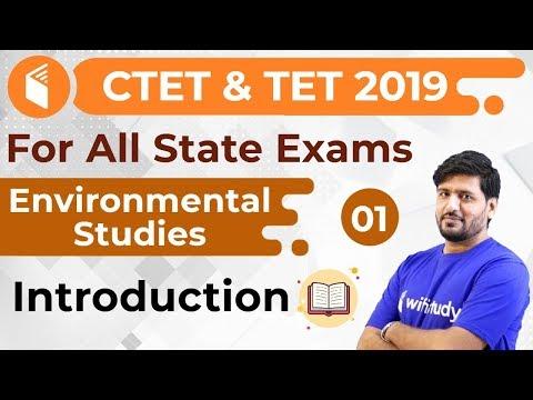 5 00 PM CTET & TET 2019 Environmental Studies by Praveen Sir Introduction