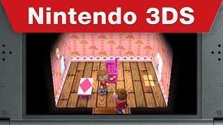 Nintendo 3DS - Animal Crossing: Happy Home Designer E3 2015 Trailer