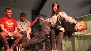 Simon Sez Stage Hypnosis 7 - Spank Me !! - Over the Knee Flogging - Funny