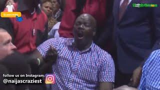 Prophet Bushiri Cast Out Anaconda Snake Spirit From Member During Deliverance- Major 1