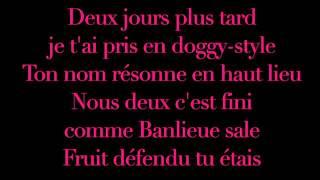 Booba validé (parole lyrics)