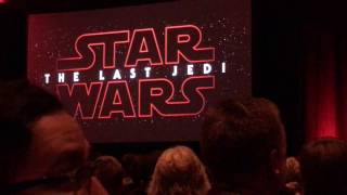 LIVE: The Last Jedi New Teaser Trailer and Fan Reaction - Star Wars Celebration 2017