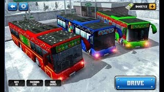 Off Road Hill Bus Driving 2017 / Bus Simulator Games / Android Gameplay Video