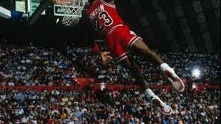 Michael Jordan Kiss the Rim Dunk 1987