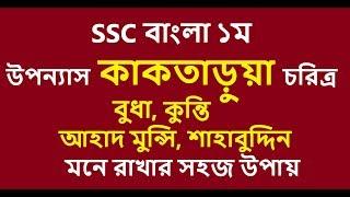 কাকতাড়ুয়া উপন্যাস SSC Bangla 1st by Kamrul Hasan part 01