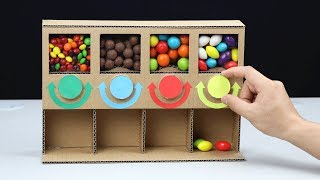 How to Make MULTI Candy Dispenser at Home DIY