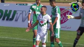 مباراة الدفاع الحسني الجديدي والرجاء الرياضي 31/12/2016 - الدوري المغربي