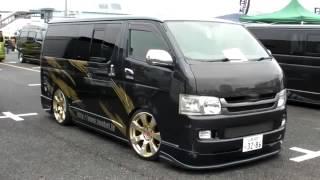 2014 HIACE CUSTOM CAR SHOW JAPAN TOKiyo