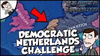Hearts of Iron 4 HOI4 Democratic Netherlands Survival Challenge