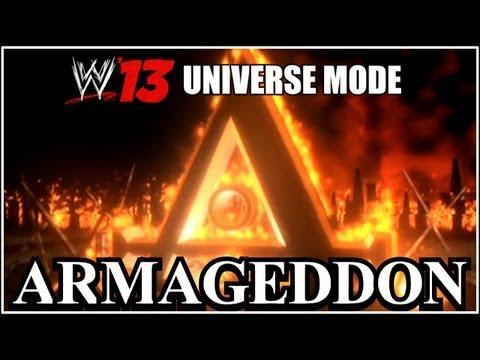 WWE 13 Universe Mode - ARMAGEDDON 2013 Full PPV (RAW & Smackdown Ft. ECW) #17