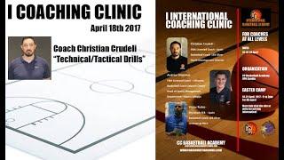 International Basketball Coaching Clinic 2017 - 1st Day