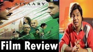 Full movie Review | Aiyaary | Manoj Bajpai | Siddharth Malhotra